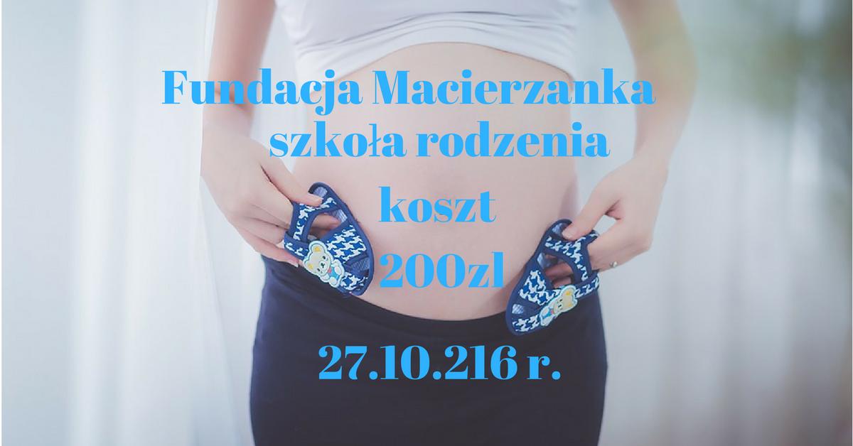 Szkoła rodzenia z dofinansowaniem UM Szczecin